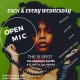 Copy of Copy of Copy of OPEN MIC WEDNESDAYS