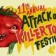 Attack of the Killer Tomato Festival
