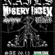 Nails, Misery Index, Outer Heaven, Ulthar at Soundstage 6/15