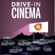 Drive-In Cinema : Born to Fly