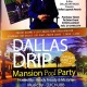 The Dallas Drip Swim Party at the Masion