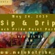 Sip & Drip: Black Pride Paint Party