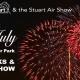 Flying over Flagler Park: 4th of July in Stuart!