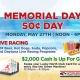 Memorial Day 50¢ Matinee