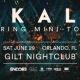 Ekali-Spring Mini-Tour Orlando, FL