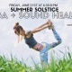Summer Solstice: Yoga and Sound Healing