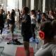 Silent Disco Yoga with CorePower Yoga!
