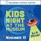Kids Night at the Museum: Sci-Fi Special
