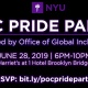 POC Pride Party (Hosted by NYU)