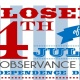 NO SHOWS THIS WEEK! Happy 4th of July!
