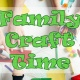 Family Craft Time at the Library