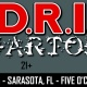 D.R.I + Wartorn in Sarasota, Florida at Five O'clock Club