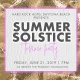 Hard Rock Hotel Daytona Beach Presents Summer Solstice