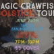 Magic Crawfish and Line of Fire at Tantra