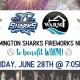 Wilmington Sharks Firework Night to Support WARM!