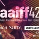 AAIFF 42 Launch Party