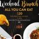 Weekend Brunch @ Obba Sushi