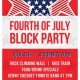 4th of July Block Party