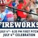 Red, White & Blue! Monumental Fun Series - July 4th Celebration