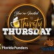 Florida Funders Thirsty Thursday