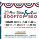 River & Post's Red, White & Blue Rooftop BBQ 2019