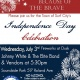 July 3rd Independence Day Celebration
