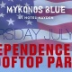 4th of July at Mykonos Blue
