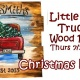 Christmas in July-Little Red Truck Wood Pallet