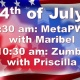 4th of July Classes