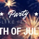 Let's Cheers to the Red White & Blue! 4th of July Weekend at Proper West