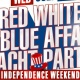 RED WHITE & BLUE AFFAIR JULY 4th weekend Yacht party