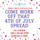 4th of July Tabata Class