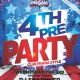Pre 4th of July Party at Club Prana