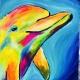 Iridescent Dolphin