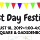 2019 First Day Festival