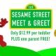 Sesame Street Meet & Greet Toddler Time