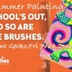 Kids Summer Paint-Fluorescent Gecko
