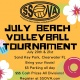 SSOVA's July Clearwater Beach Volleyball Tournament