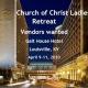Vendors  for Annual COC Ladies Retreat - Galt House Hotel