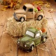 Adult Ceramic Paint: Vintage Truck with Pumpkins or Apples
