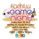 Family Game Night-Sept. 20