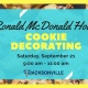 JYR September Community Service: Cookie Decorating!