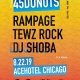 45 Donuts X Waydown @AceHotel Chicago w/ Rampage, Dj Shoba, Tewz Rock
