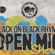 Black on Black Rhyme Tampa: The Black out!!!