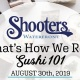 That's How We Roll: Sushi 101 | August 30th 2019
