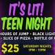 It's LIT! Teen Night at Altitude Trampoline Park Sanford