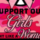 SUPPORT OUR GIRLS: Fight Like A Woman 1M, 5/10K, 13.1, 26.2- Orlando
