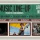 Labor Day Weekend Music Lineup