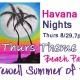 Thurs Theme Night-Beach Party Summer Farewell