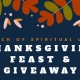 Thanksgiving Feast & GiveAway Ceremony